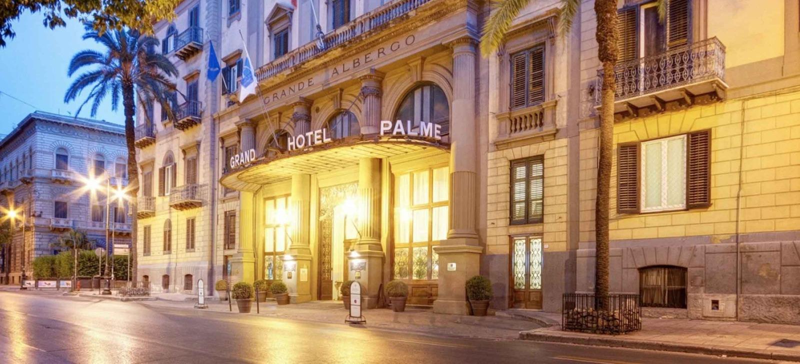 Grande Hotel et Des Palmes Palermo Italy